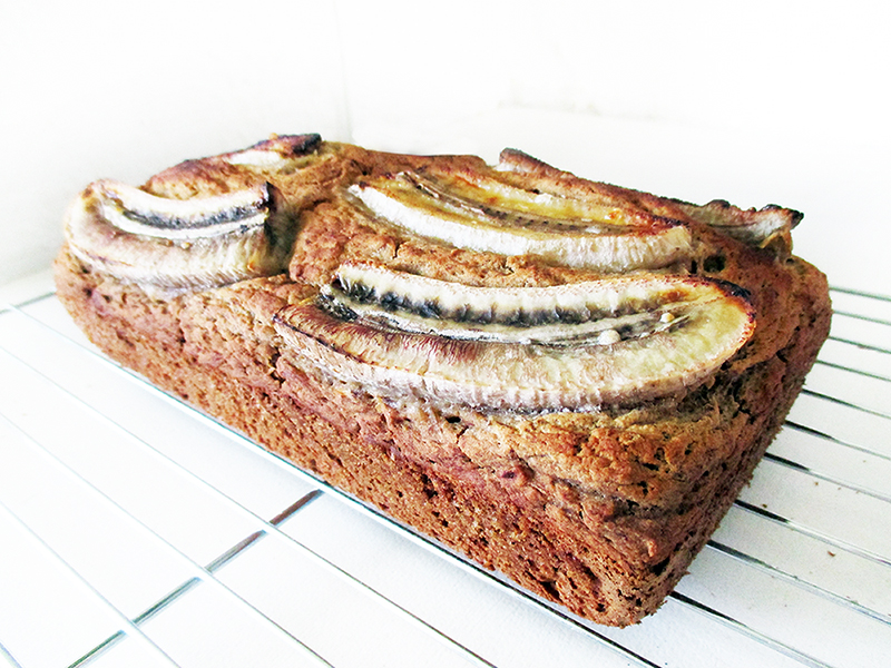 Vegan Gluten free Fruit Sweetened Banana Loaf Recipe 2