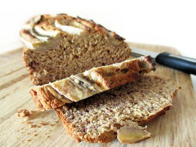 Vegan Gluten free Fruit Sweetened Banana Loaf Recipe 7