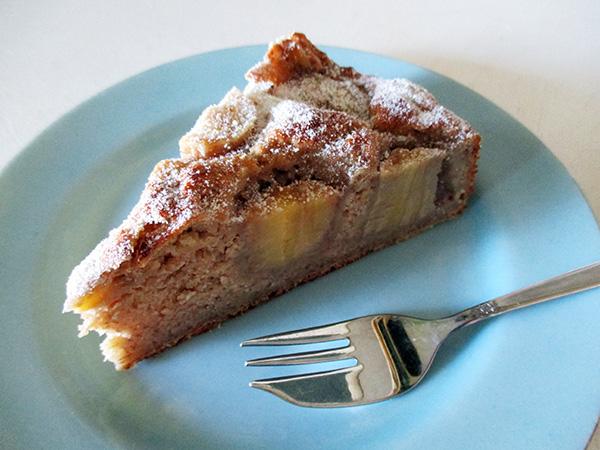 Vegan Gluten-free Banana Cake