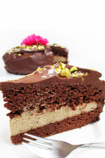 Vegane Glutenfreie Fruchtgesuesste Schoko Kaffee Kuchen Torte Rezept 3 1