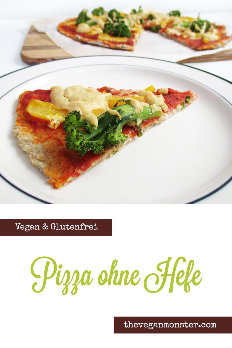 Vegane Glutenfreie Pizza Ohne Hefe Rezept P2