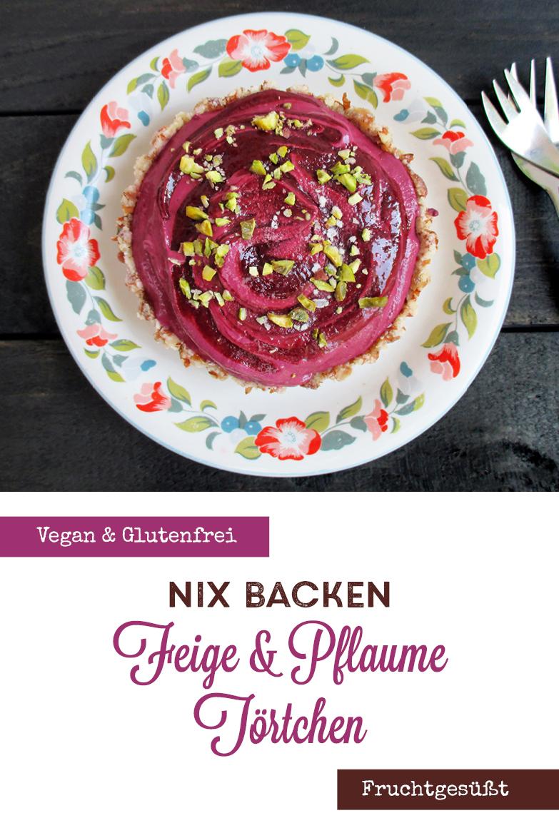 Vegane Glutenfreie Fruchtgesuesste Nix Backen Pflaumen Feigen Kuchen Rezept P4
