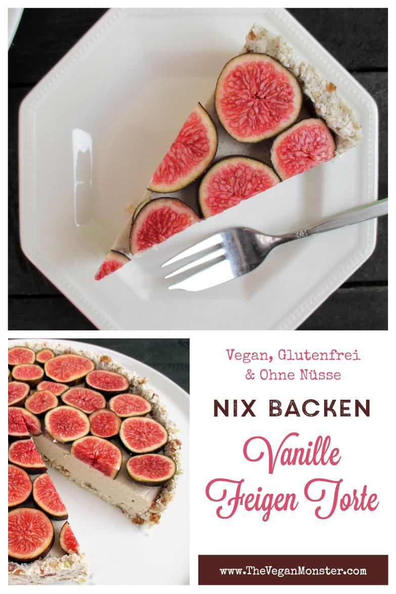 Vegane Glutenfreie Fruchtgesuesste Nix Backen Vanille Feigen Torte Rezept P3