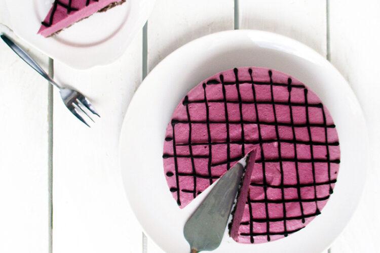 Vegane Glutenfreie Nix Backen Himbeer Schoko Torte Kuchen Ohne Nuesse Rezept 3 1