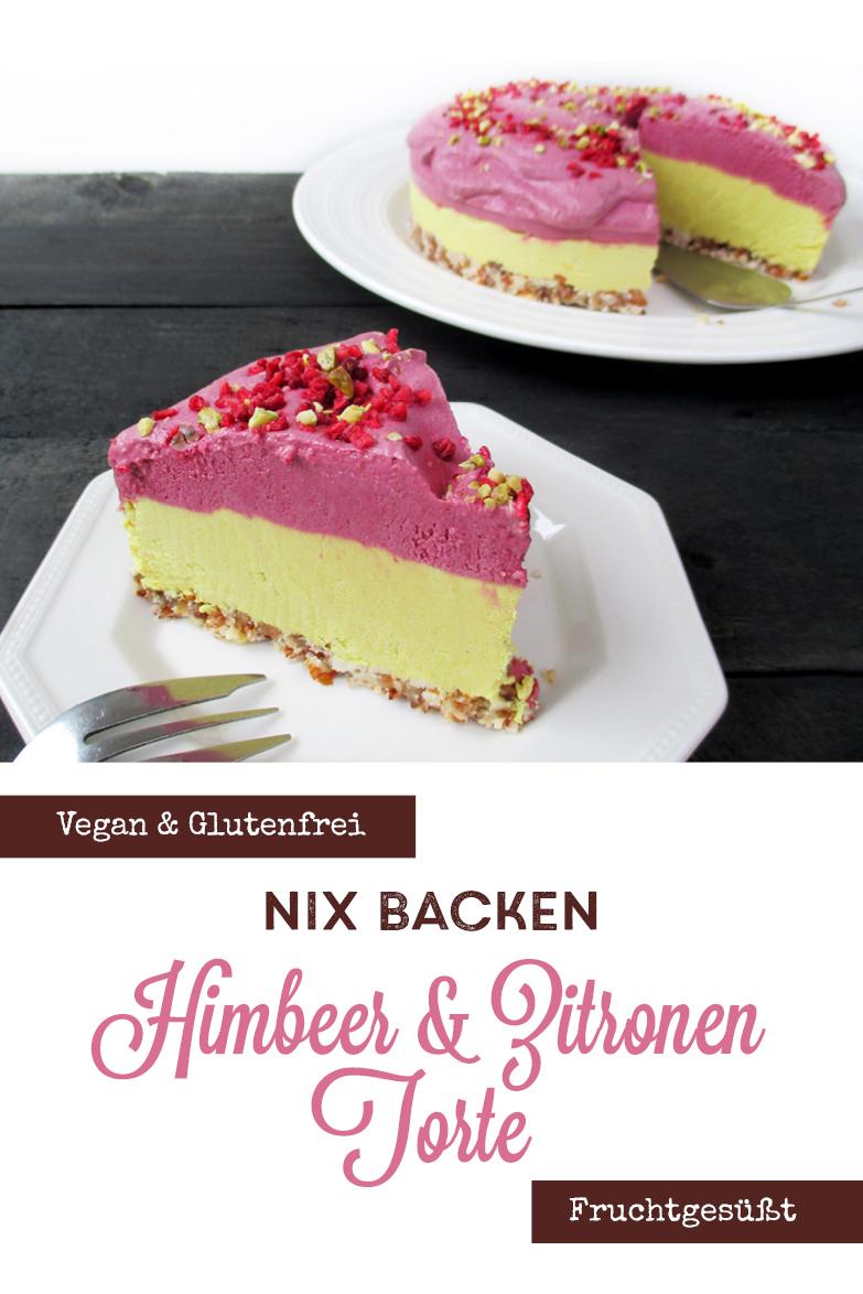 Vegane Glutenfreie Nix Backen Himbeer Zitrone Torte Fruchtgesuesst Rezept P4