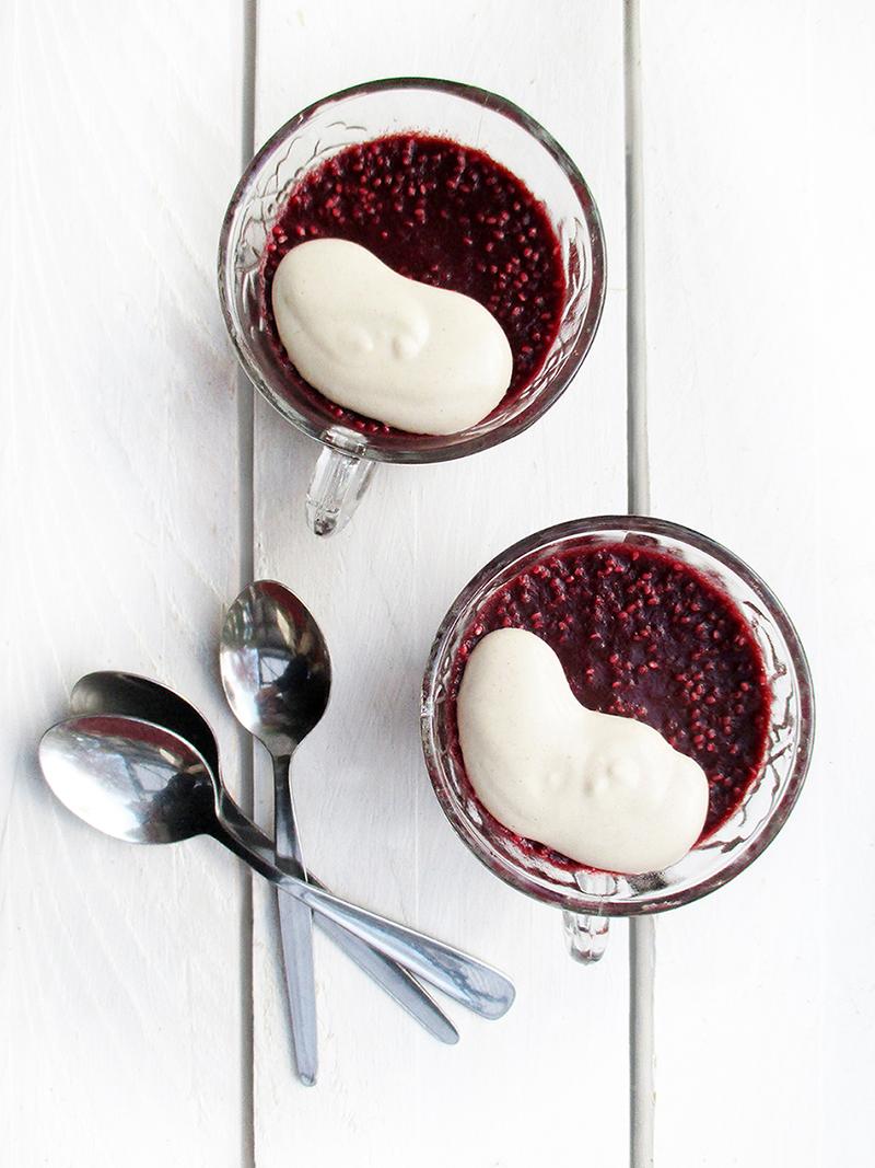Raw Berry Chia Jelly Pudding Fruit Sweetened Recipe 3