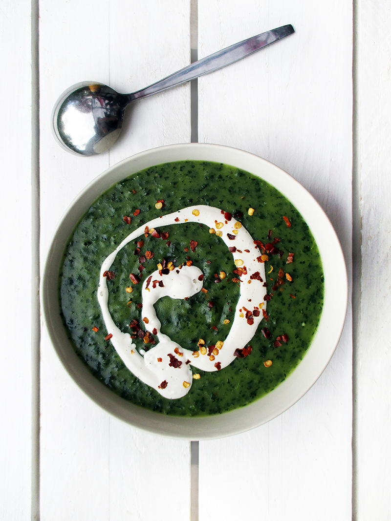 Vegan Gluten free Eat Your Greens Kale Potato Soup Recipe 2