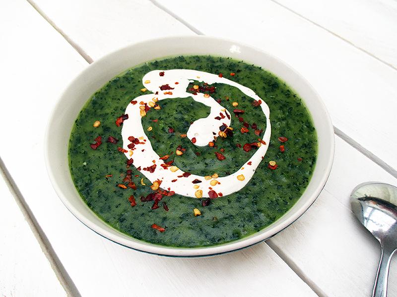 Vegan Gluten free Eat Your Greens Kale Potato Soup Recipe 3
