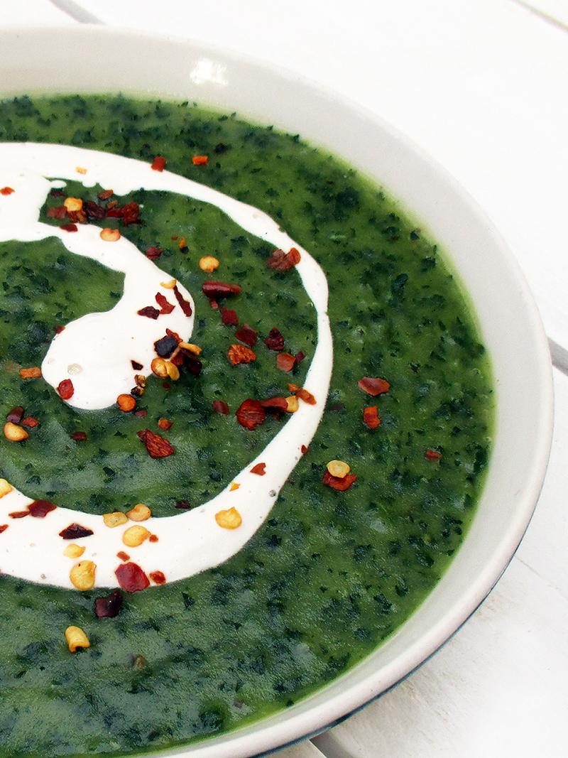 Vegan Gluten free Eat Your Greens Kale Potato Soup Recipe 4