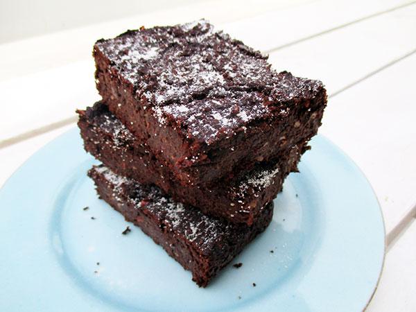 Vegan Gluten-free Oil-free Chocolate Brownie Recipe