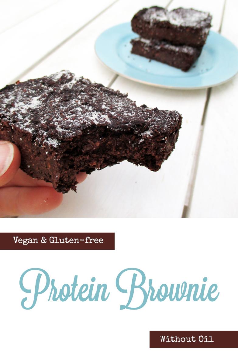 Vegan Gluten free Oil free Chocolate Brownie Recipe P2
