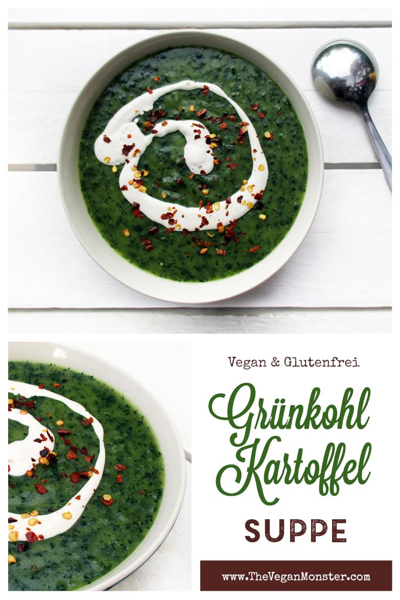 Vegane Glutenfreie Iss Dein Gruen Gruenkohl Kartoffel Suppe Rezept P3