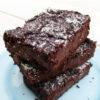 Vegane Glutenfreie Schoko Protein Brownies Ohne Oel Rezept 1 1