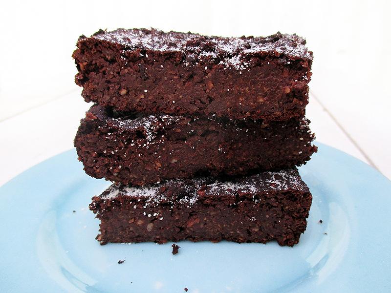 Vegane Glutenfreie Schoko Protein Brownies Ohne Oel Rezept 2