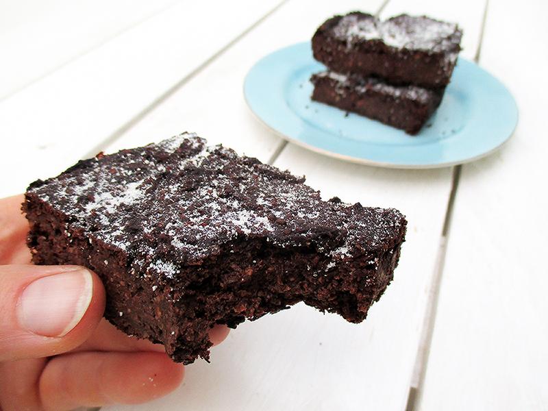 Vegane Glutenfreie Schoko Protein Brownies Ohne Oel Rezept 3