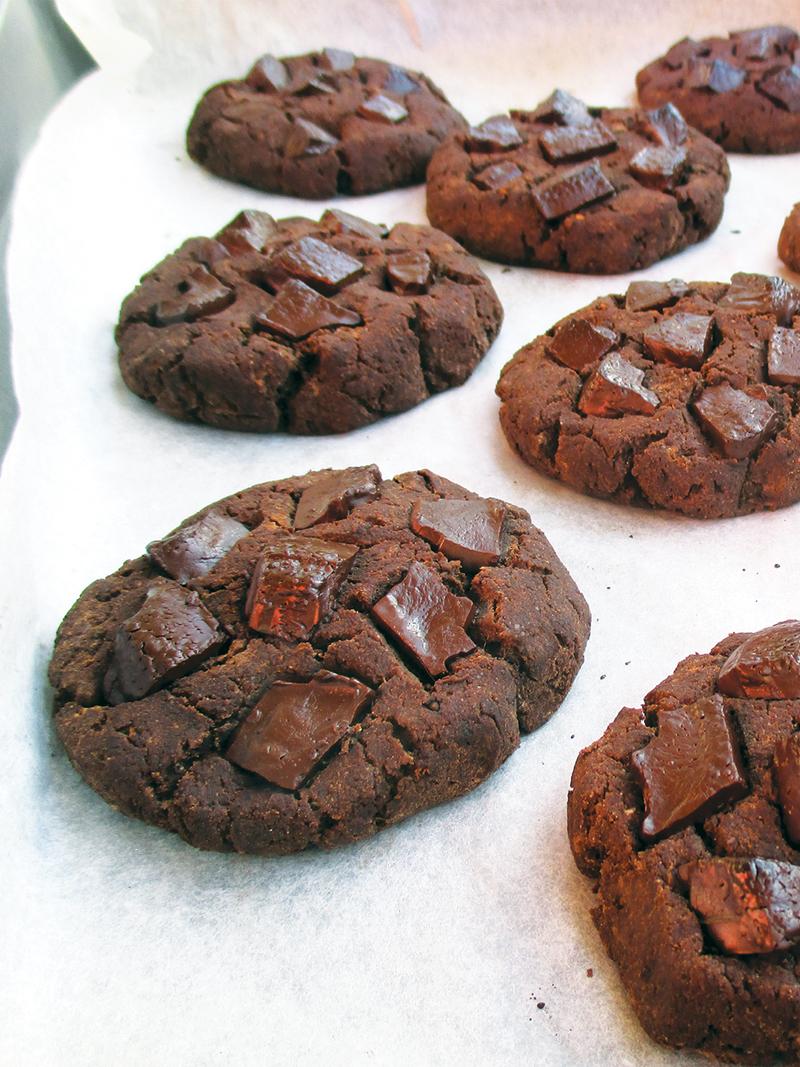 Vegan Gluten free Oil free Nut Milk Pulp Cookie Recipe 4