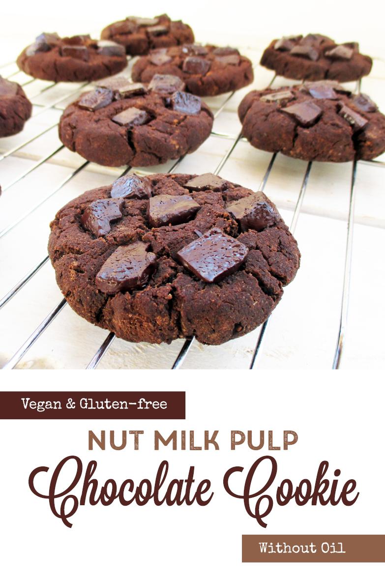 Vegan Gluten free Oil free Nut Milk Pulp Cookie Recipe P2