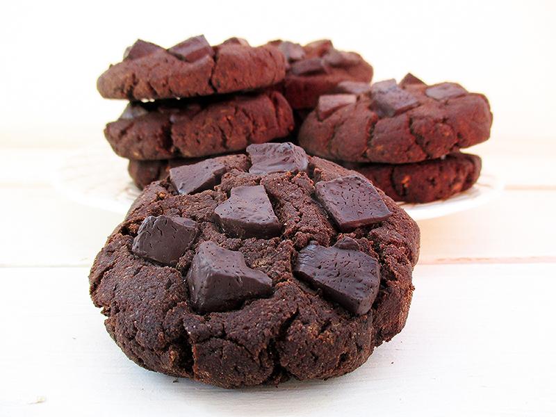 Vegane Glutenfreie Nussmilch Mehl Schoko Kekse Cookies Ohne Oel Rezept 3