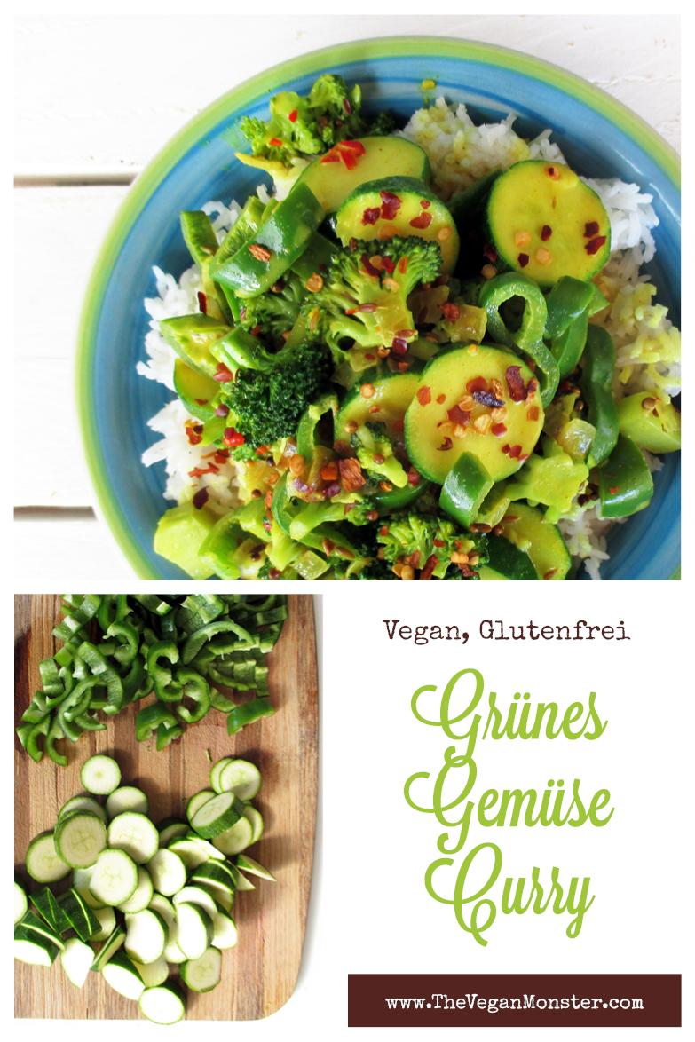 Veganes Glutenfreies Einfaches Gruenes Gemuese Curry Rezept P4