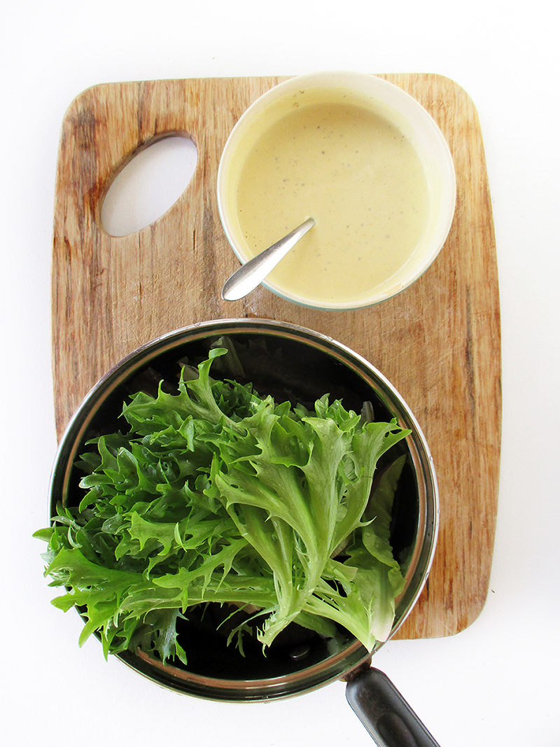 Vegan Gluten free Oil free Easy Creamy Mustard Dressing Recipe 1