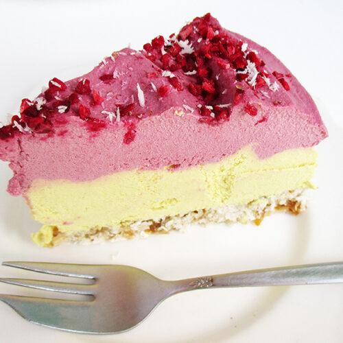 Vegane Glutenfreie Fruchtgesuesste Nix Backen Zitronen Himbeer Nix Backen Kuchen Torte Rezept 4 1