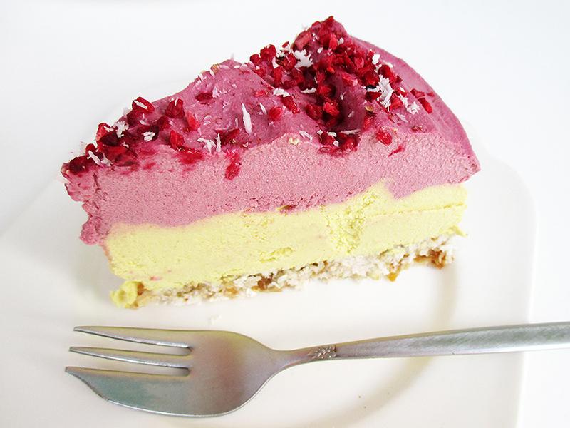 Vegane Glutenfreie Fruchtgesuesste Nix Backen Zitronen Himbeer Nix Backen Kuchen Torte Rezept 4