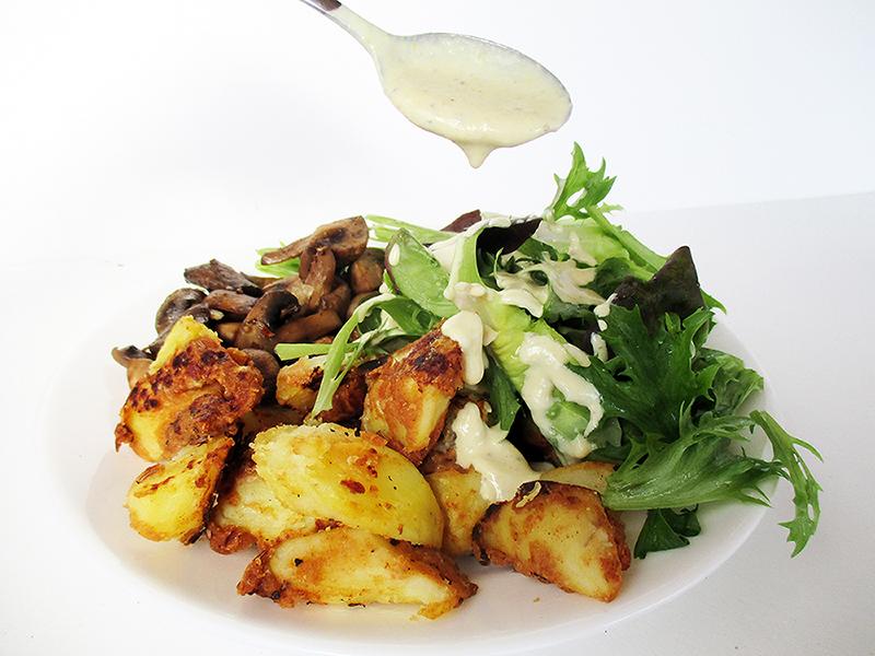 Veganes Glutenfreies Einfaches Senf Salat Dressing Ohne Oel Rezept 2