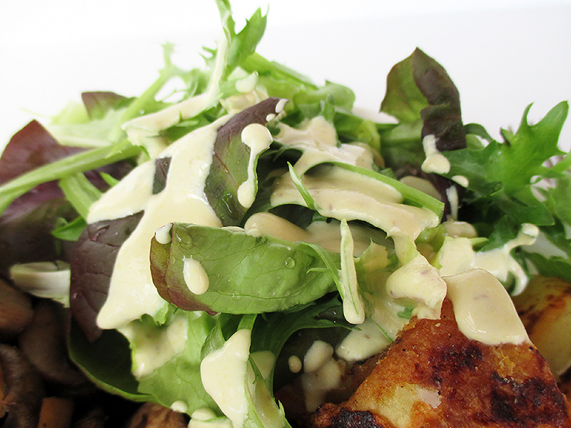 Veganes Glutenfreies Einfaches Senf Salat Dressing Ohne Oel Rezept 3