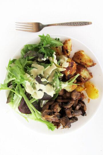 Veganes Glutenfreies Einfaches Senf Salat Dressing Ohne Oel Rezept 4 1