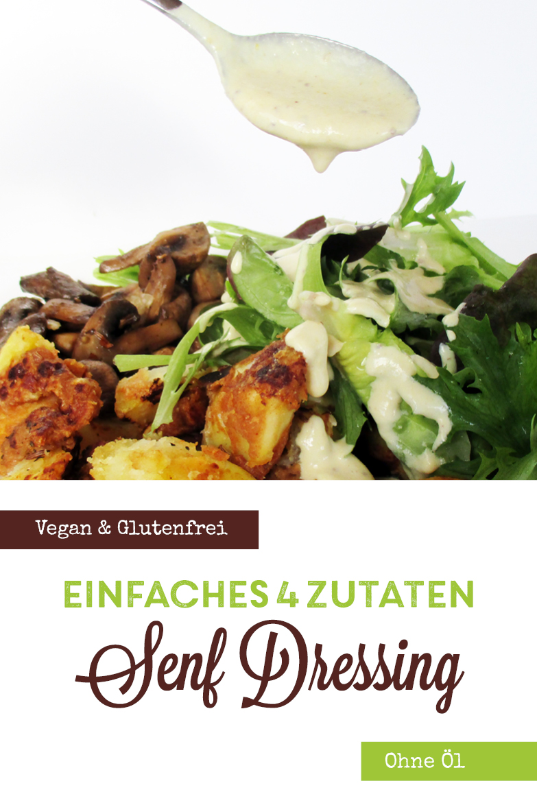 Veganes Glutenfreies Einfaches Senf Salat Dressing Ohne Oel Rezept P2