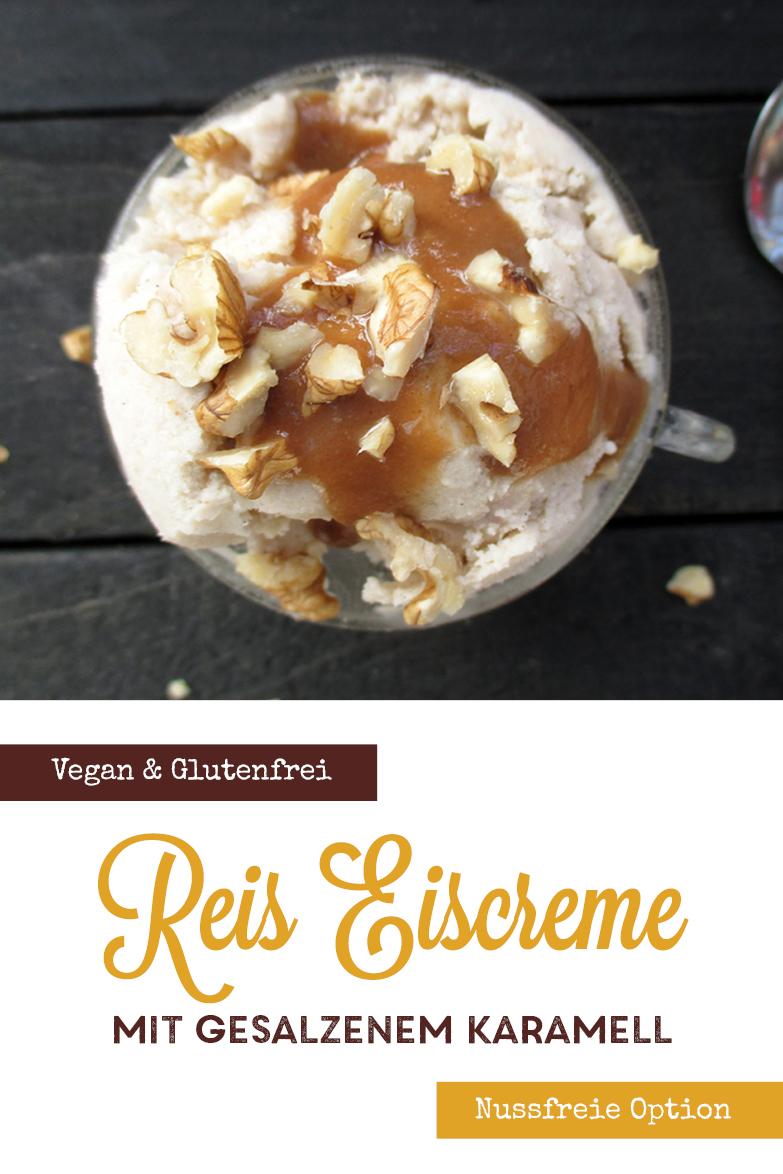 Vegane Glutenfreie Fruchtgesuesste Reis Vanille Eiscreme Rezept P