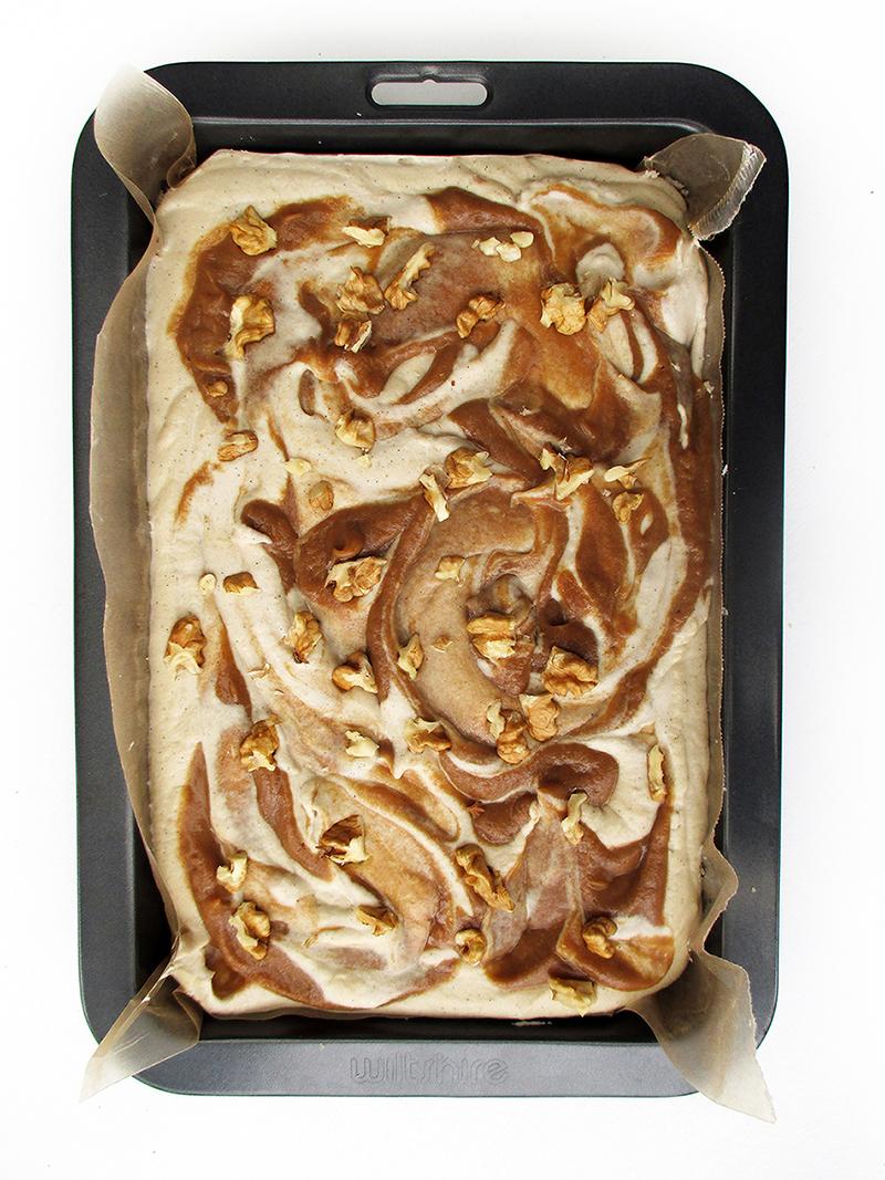 Vegane Glutenfreie Nix Backen Salted Karamell Kuchen Schnitten Fruchtgesuesst Rezept 1