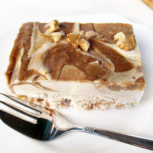 Vegane Glutenfreie Nix Backen Salted Karamell Kuchen Schnitten Fruchtgesuesst Rezept 3 1
