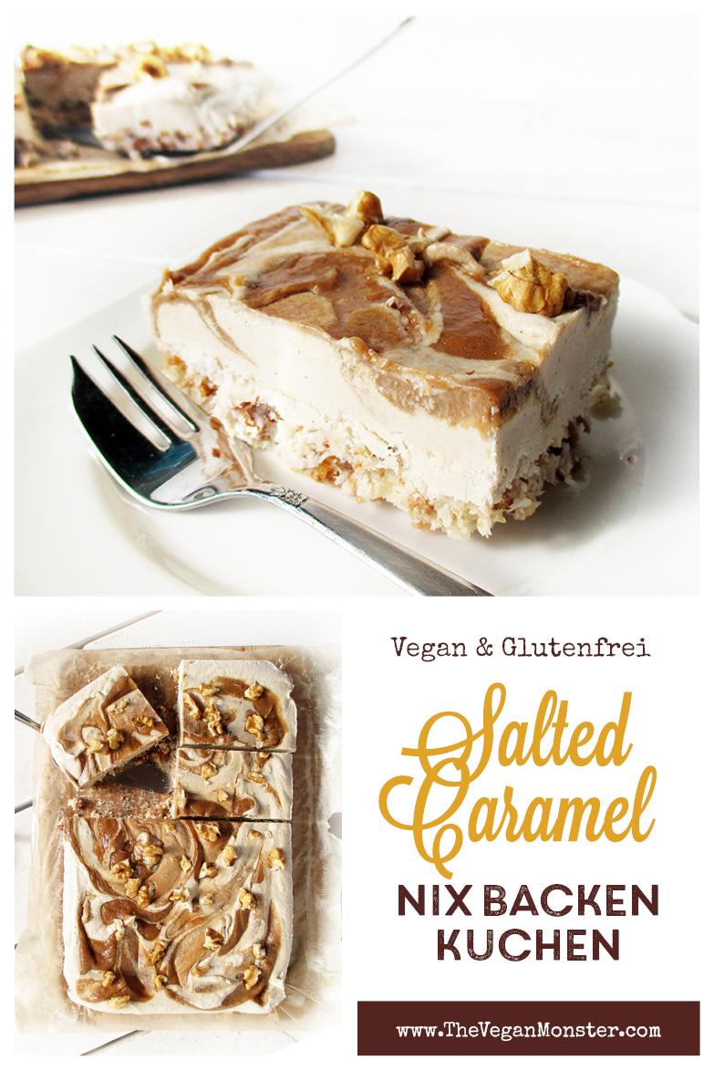 Vegane Glutenfreie Nix Backen Salted Karamell Kuchen Schnitten Fruchtgesuesst Rezept P2