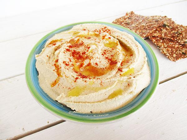 Vegan Gluten-free Easy Homemade Hummus