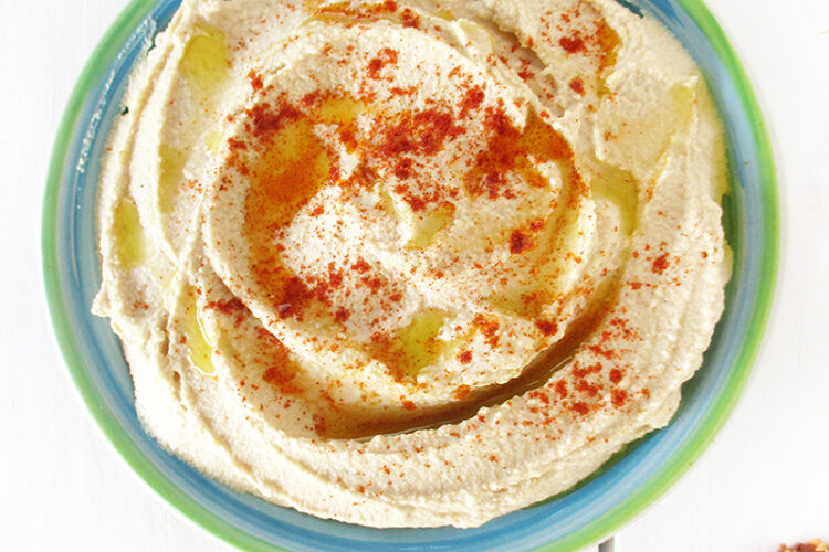 Einfacher Veganer Glutenfreier Hausgemachter Hummus Rezept 4 1