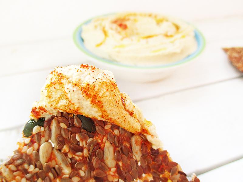 Einfacher Veganer Glutenfreier Hausgemachter Hummus Rezept 5