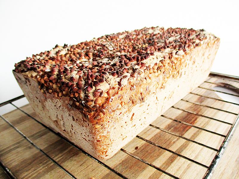 Vegan Gluten free Crispy Buckwheat Bread Recipe 2