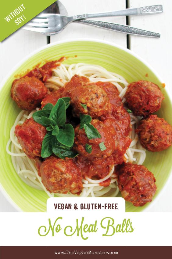 Vegan Gluten free Nut free Soy free Lentil No Meat Balls Recipe P2