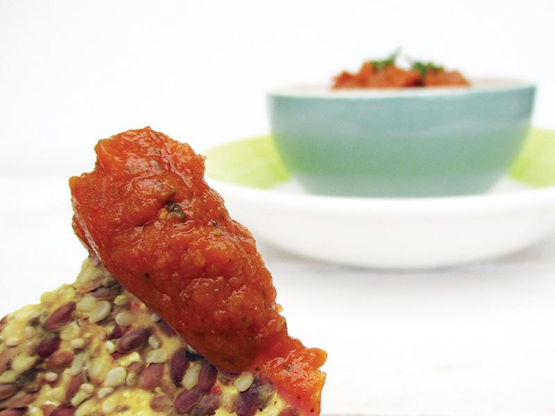 Vegan Gluten free Oil free Pizza Dip Recipe 3