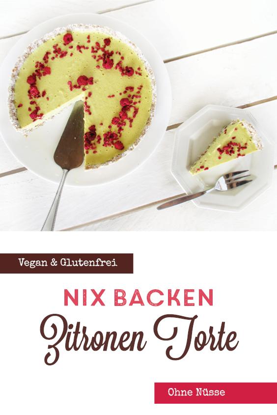 Vegane Glutenfreie Nix Backen Zitronen Kuchen Torte Ohne Nuesse Rezept P5