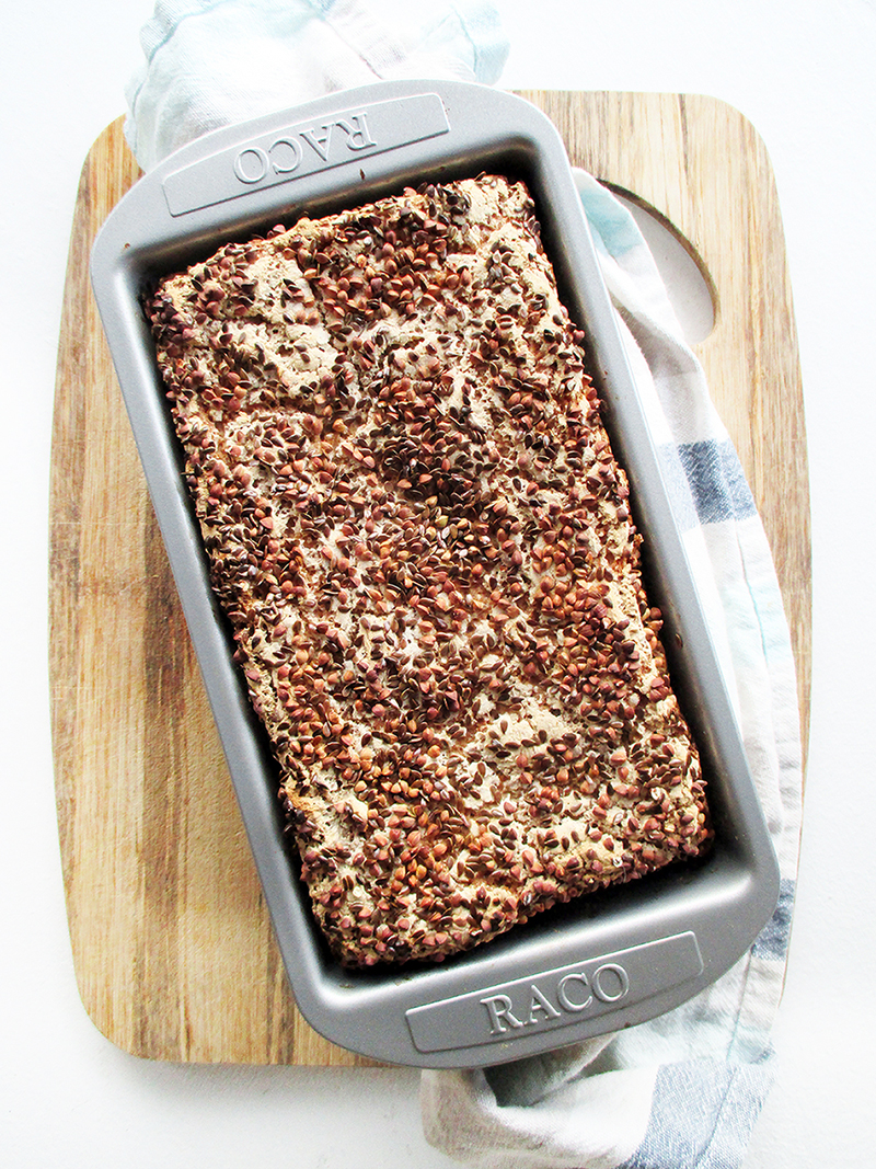 Veganes Glutenfreies Knusper Buchweizen Brot Rezept 1