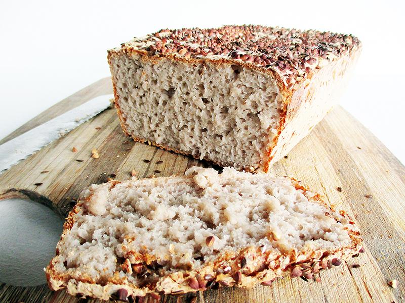Veganes Glutenfreies Knusper Buchweizen Brot Rezept 4