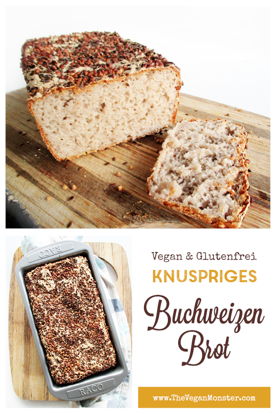 Veganes Glutenfreies Knusper Buchweizen Brot Rezept P3