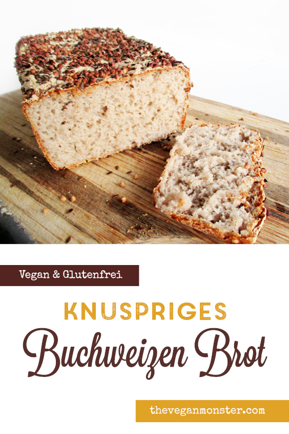Veganes Glutenfreies Knusper Buchweizen Brot Rezept P4