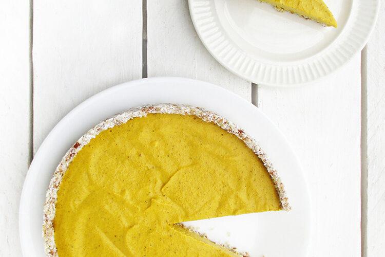 Veganer Glutenfreier Nix Backen Kuerbis Kuchen Pumpkin Pie Ohne Nuesse Rezept 2 1