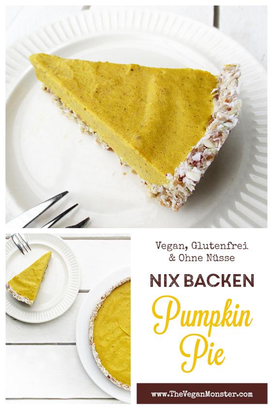 Veganer Glutenfreier Nix Backen Kuerbis Kuchen Pumpkin Pie Ohne Nuesse Rezept P3