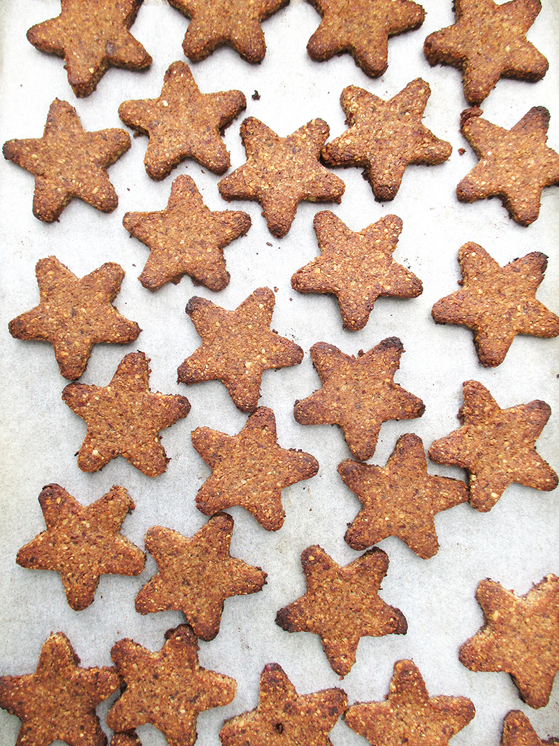 Vegan Gluten free Cinnamon Star Cookies Without Refined Sugar Egg free Soy free Recipe 3