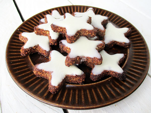 Vegan Gluten free Cinnamon Star Cookies Without Refined Sugar Egg free Soy free Recipe 5