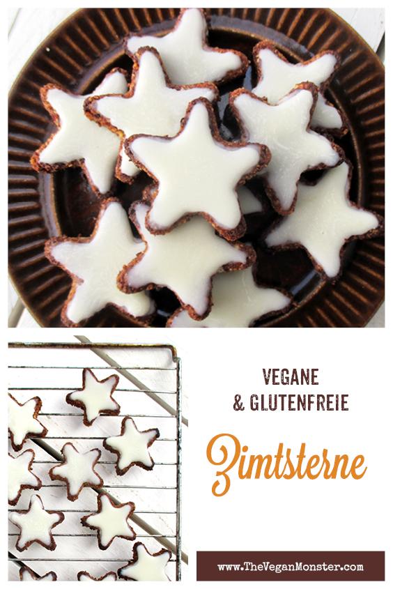 Vegane Glutenfreie Zimtsterne Plaetzchen Ohne Ei Ohne Milch Ohne Zucker Rezept 2 1
